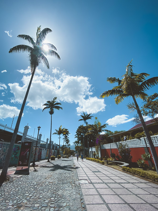 Калифорнийский бульвар в Сан-Хосе, Коста-Рика