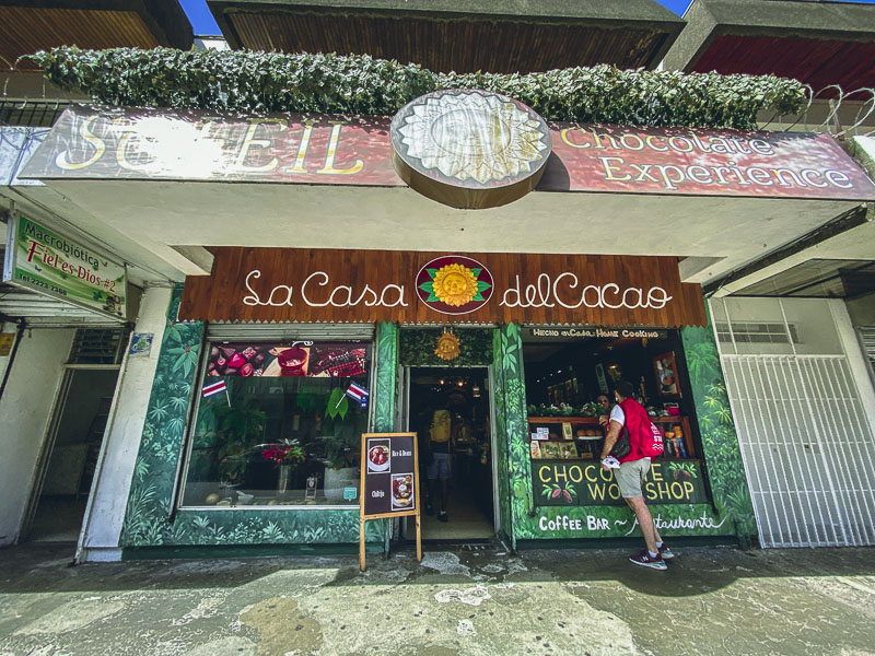 Chocolate Factory in San Jose Costa Rica