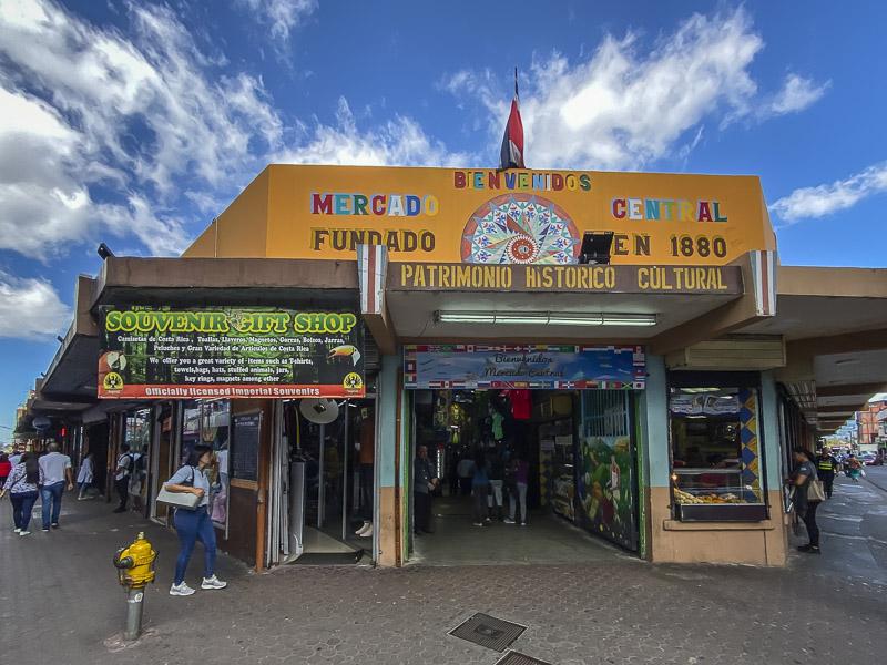 Faire du shopping au marché central est l'une des meilleures choses à faire à San José