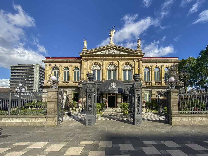 Visit the National Theater of Costa Rica in San Jose