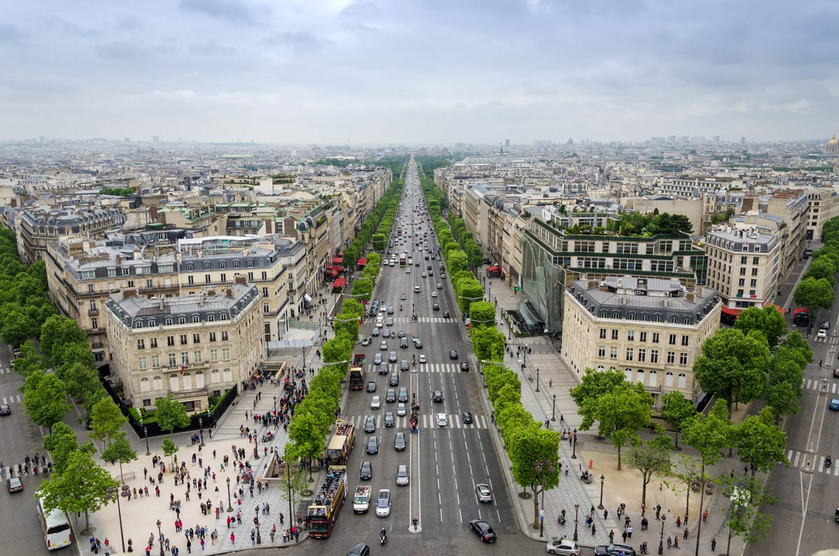 Three Days in Paris Itinerary Champs Elysees