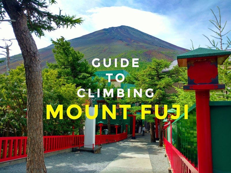 complete guide to climbing mount fuji