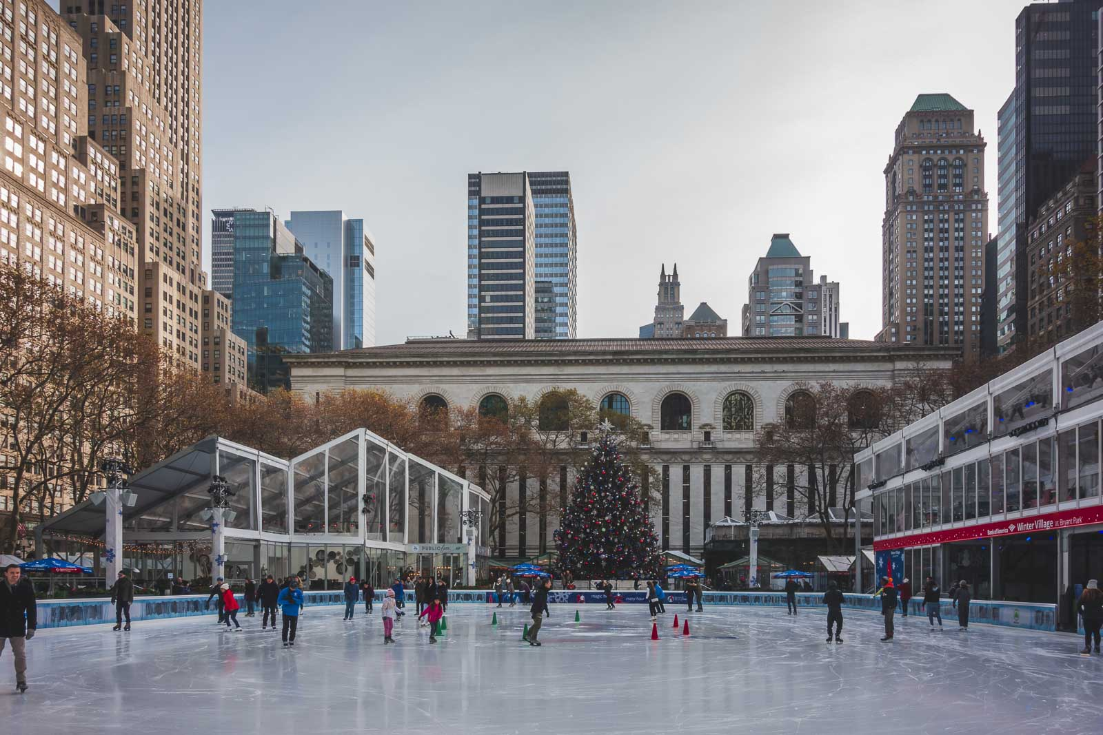 things to do near times square new york bryant park