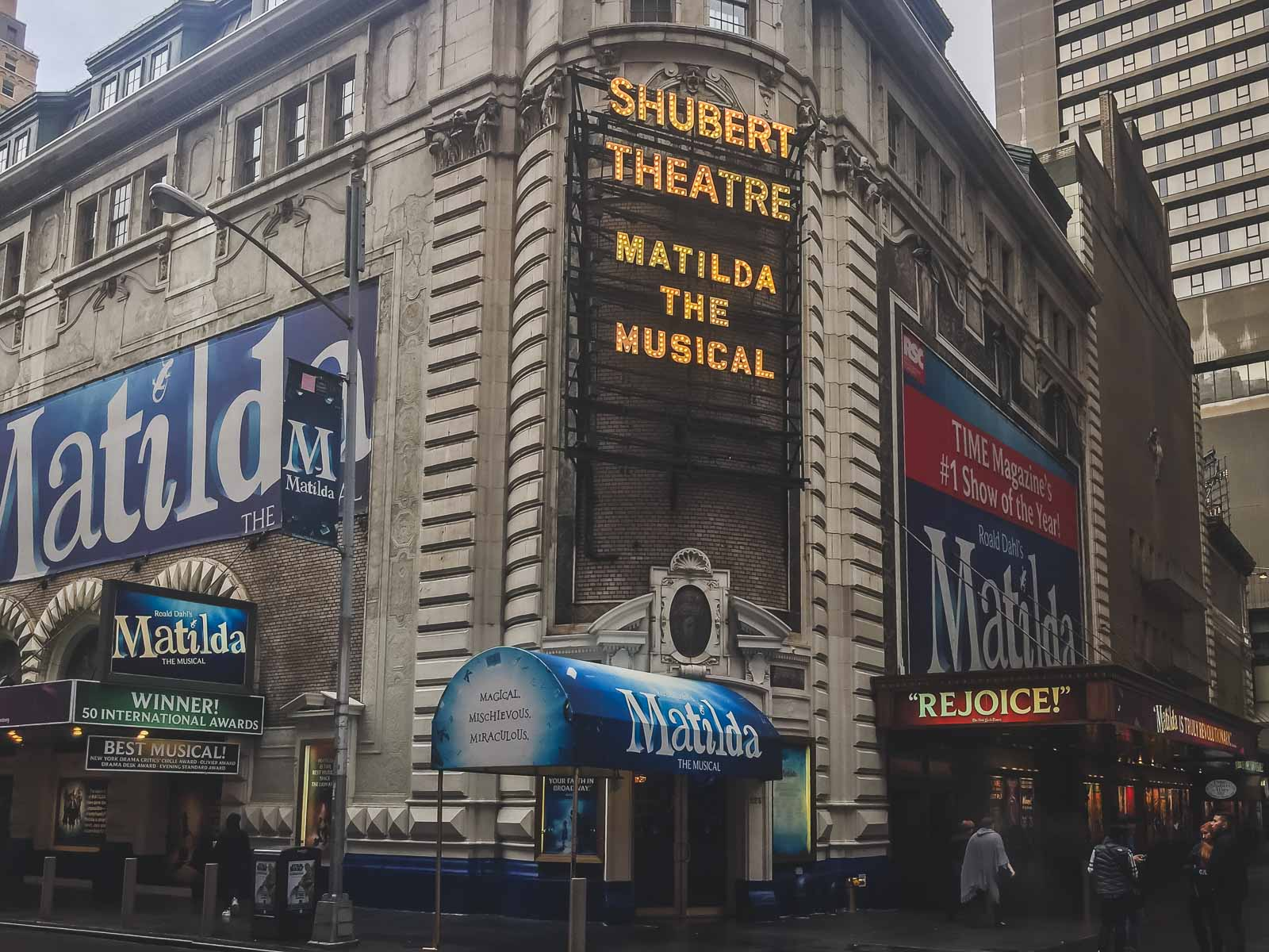 Shubert Alley in Times Square New York City