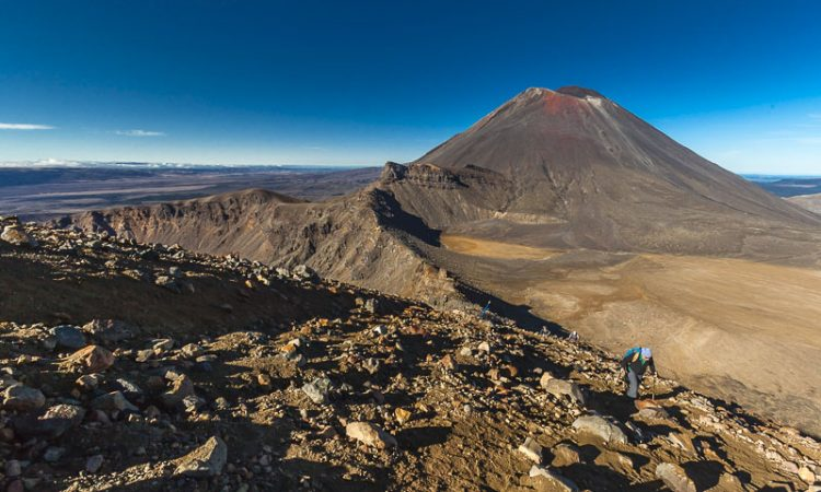 Tongariro Alpine Crossing in New Zealand