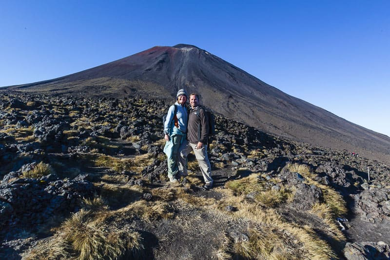 Mount Doom on the Tongariro Crossing