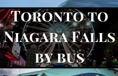 Toronto to Niagara Falls by Bus Pin