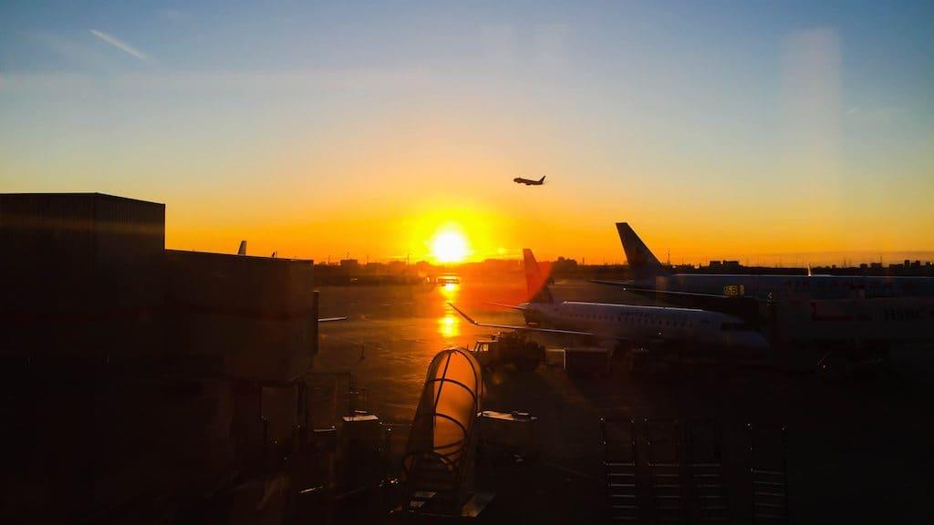 Toronto Pearson Airport flight