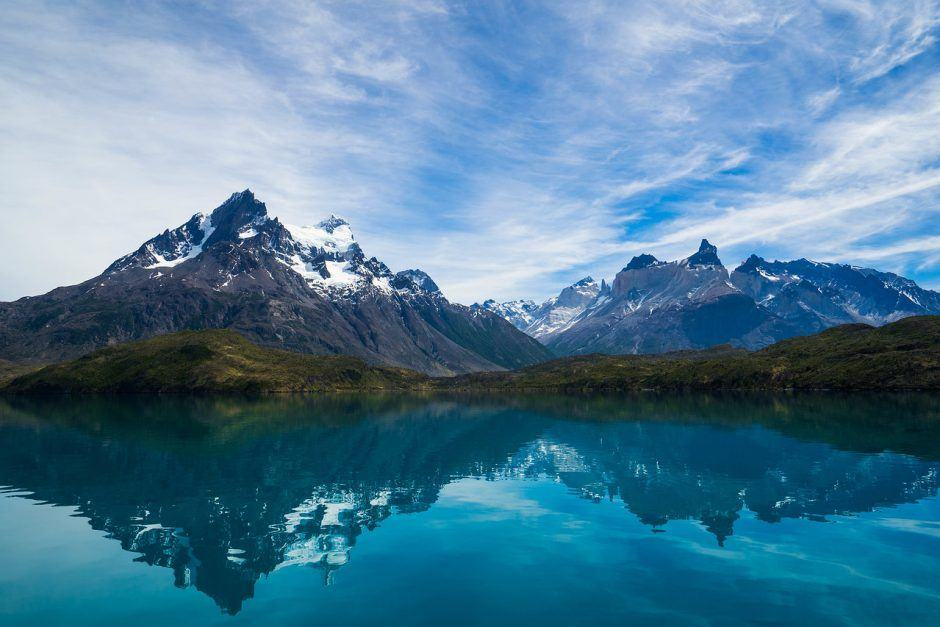 Mountain Lake Torres del Paine National Park: