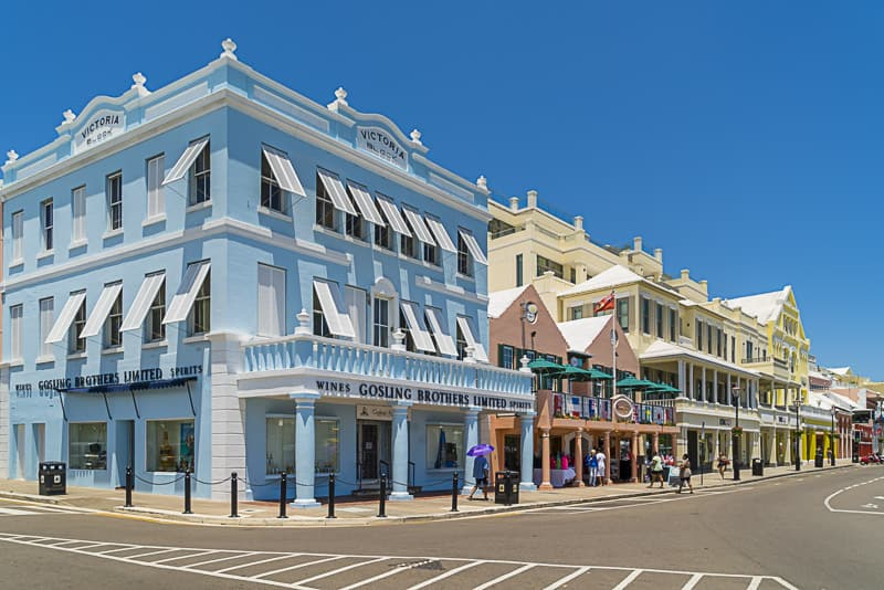 Stroll the streets of Hamilton, Bermuda