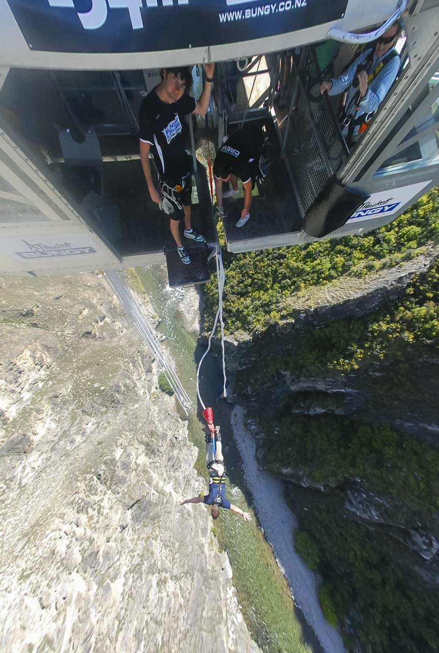 Bungy Jump New Zealand
