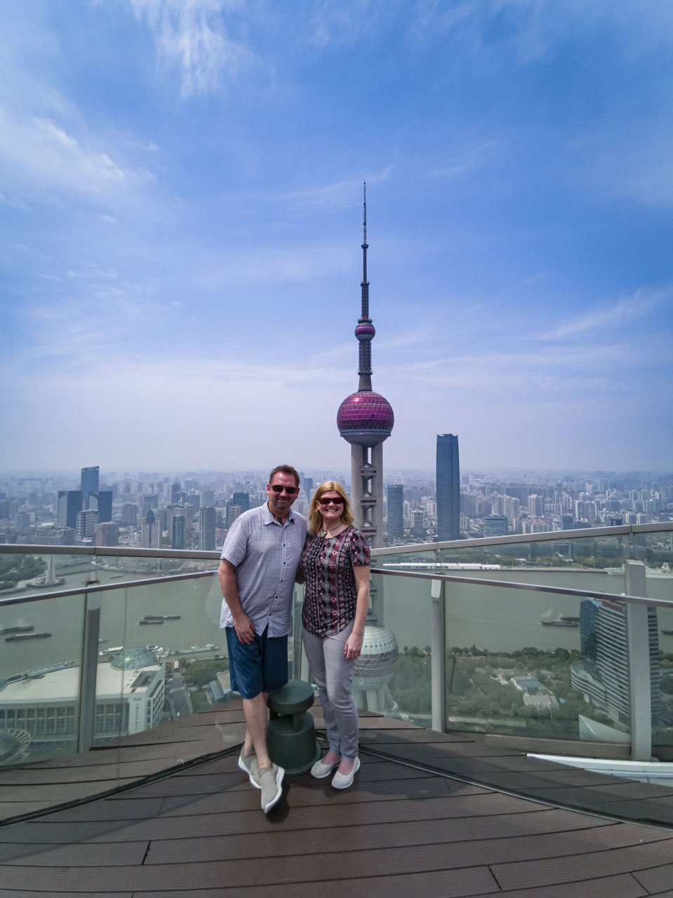 Dave and Deb in China