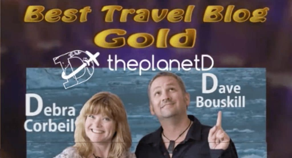 Best Travel Blog! Honored to win SATW Two Years in a Row