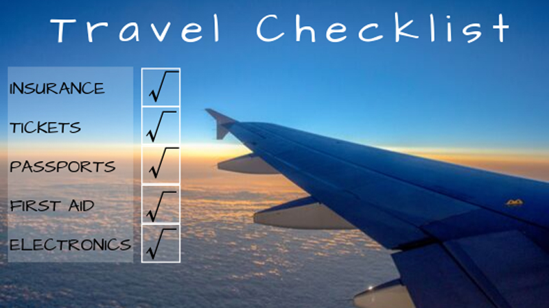 ultimate pre travel checklist featured image