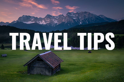 travel tips sidebar