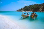 fun facts about thailand longtail boats at white sand beach