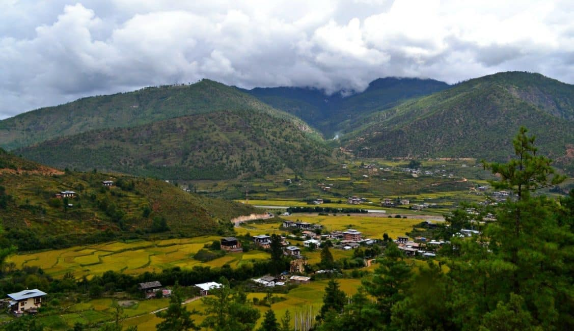 travel to Bhutan header