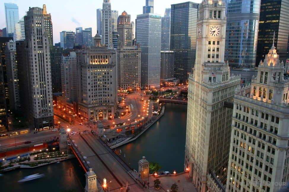best skylines Chicago