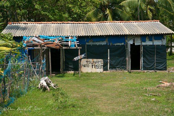 Tsunami Photo Museum in Hikkaduwa, sri lanka