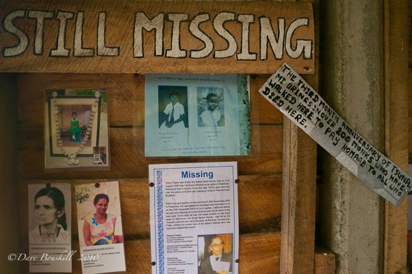 missing People are still unaccounted for from Tsunami