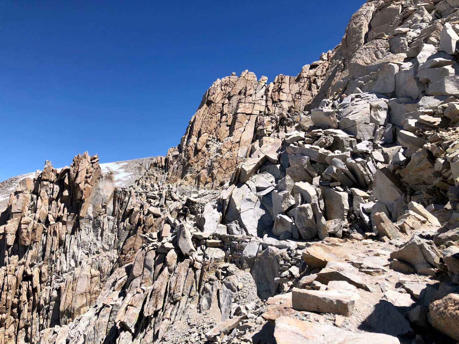 typcial marmot terrain in mountains