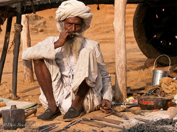 The Metal Smith at Shilpgram