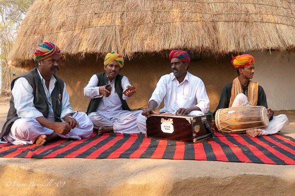 Musicians at Shilpgram