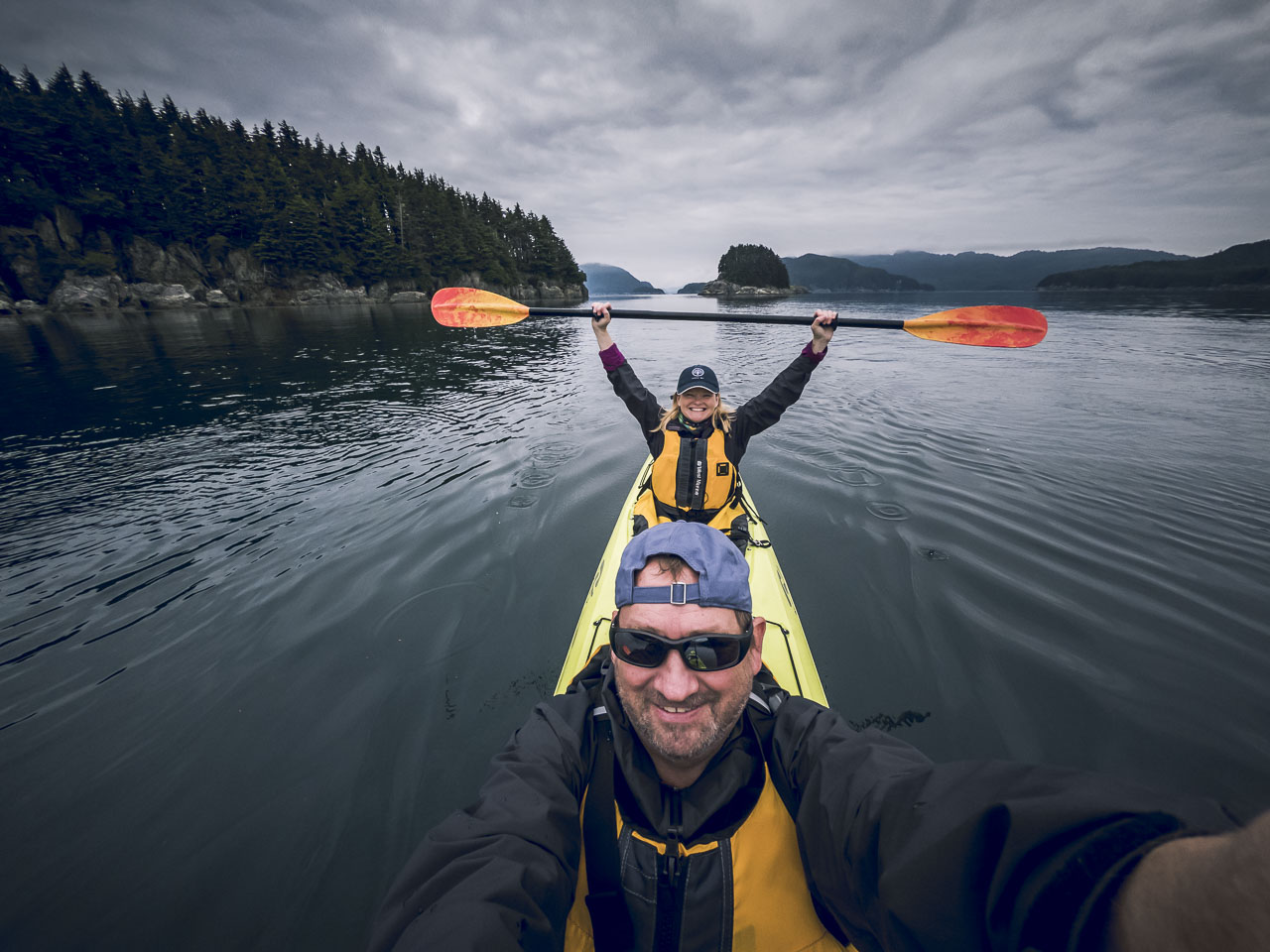The Planet D kayaking in Alaska