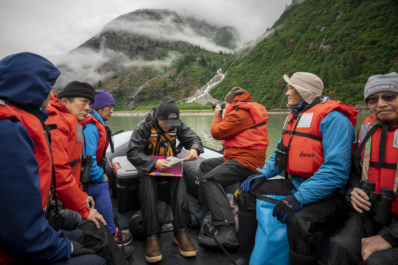 Staying dry on a Skiff in alaska