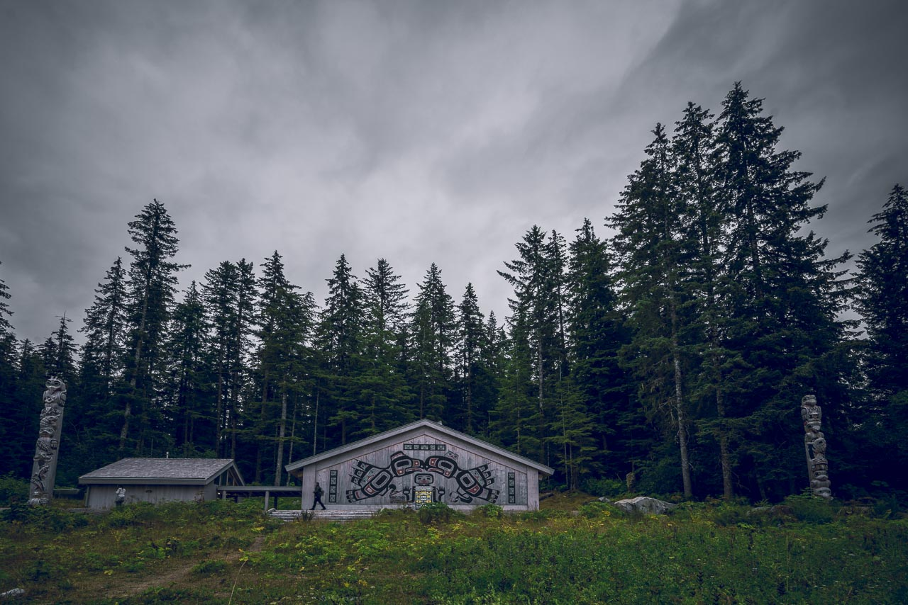 Tlinkit Longhouse Alaska