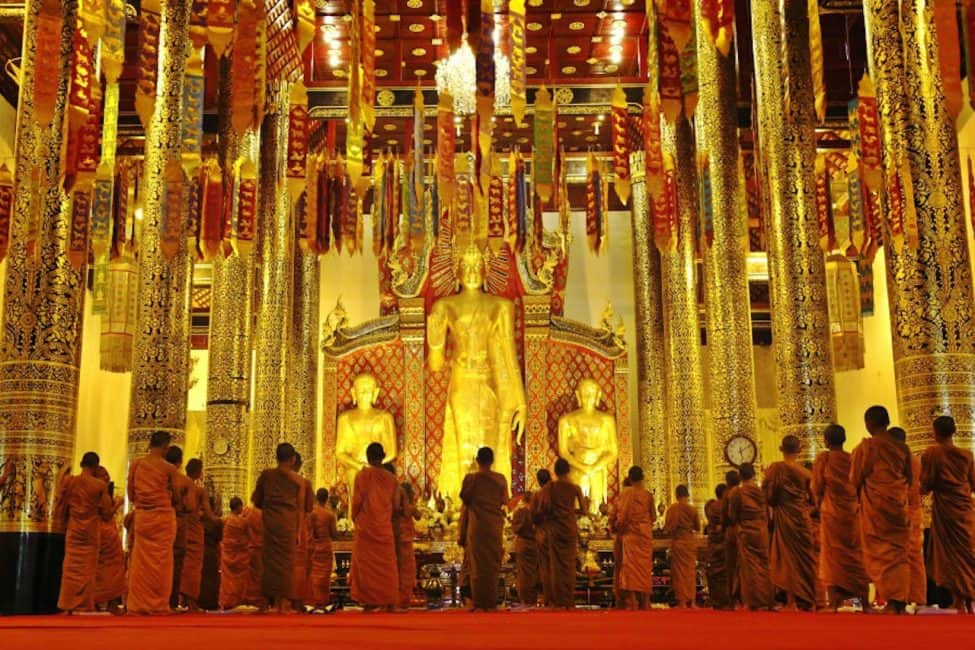 Chiang Mai Monks, Unique Attraction