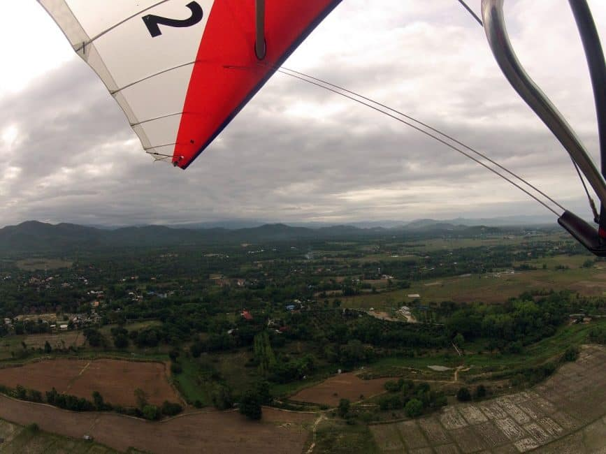 see chiang mai thailand from above