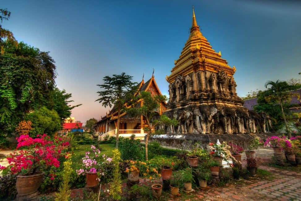 chiang mai attractiosn temples and old city