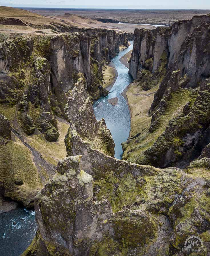 iceland places to visit Fjadrargljufur Canyon