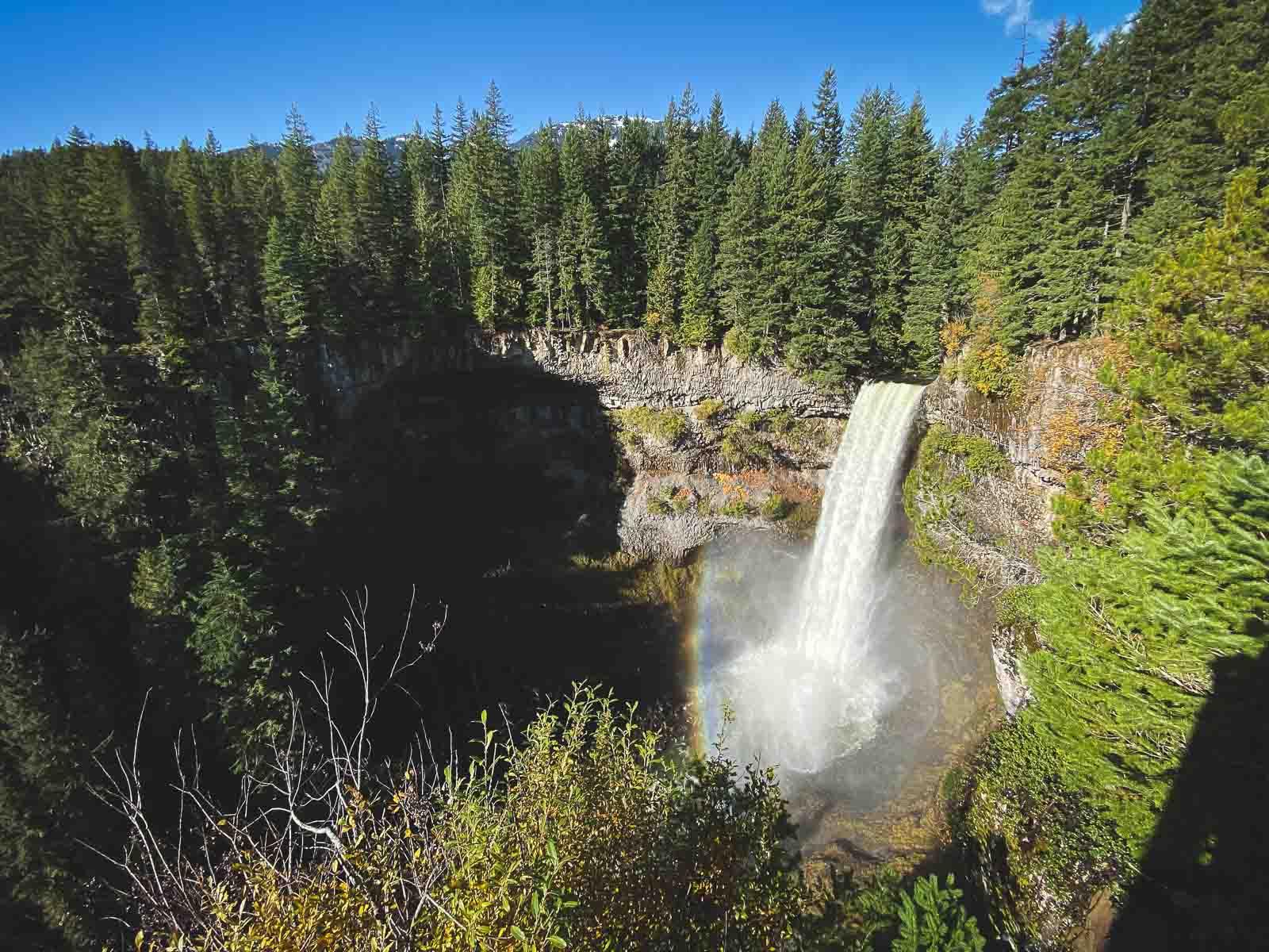 Upper Shannon Falls BC