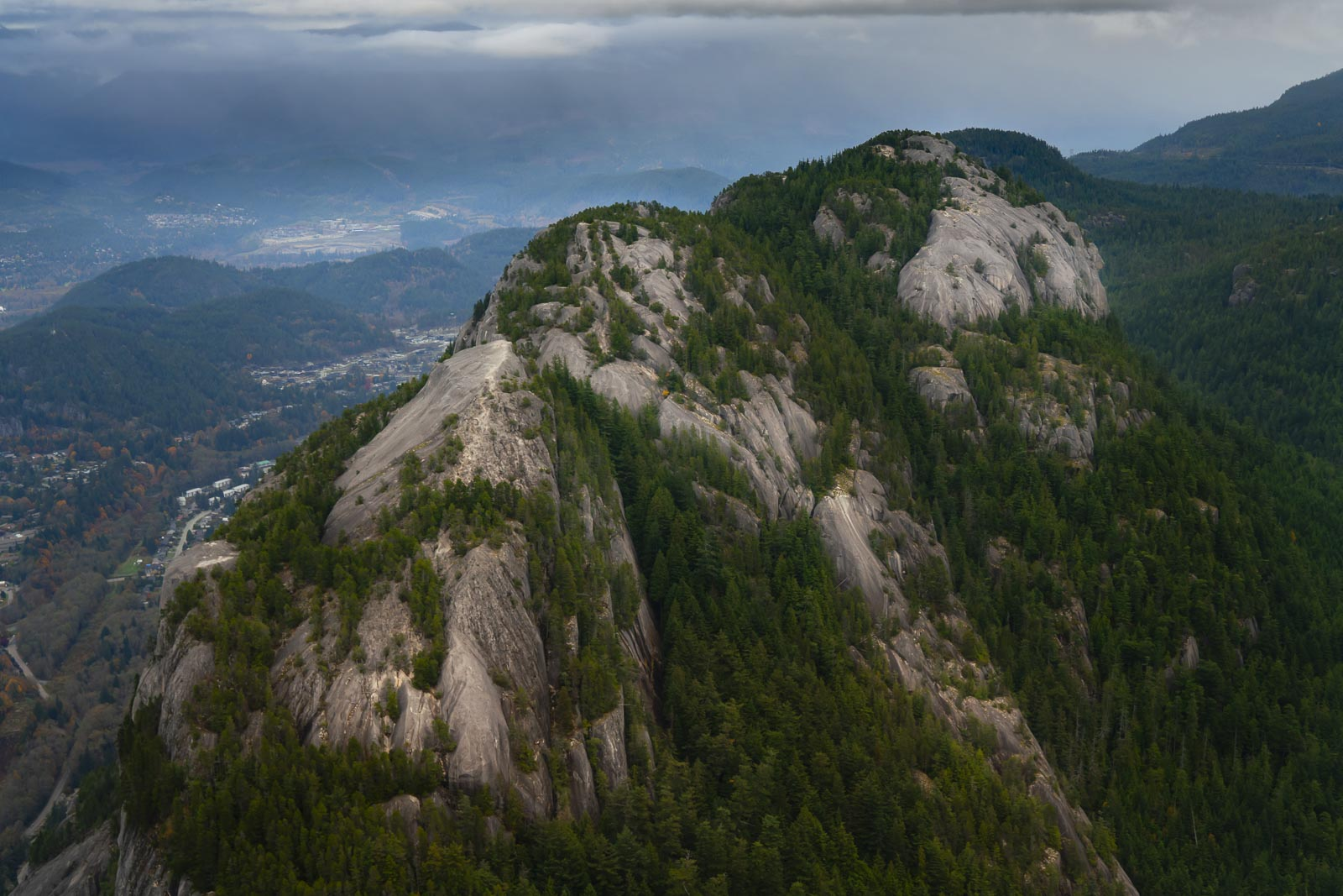 Stawamus Chief from above