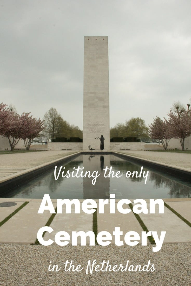 Visiting the only American cemetery in the Netherlands