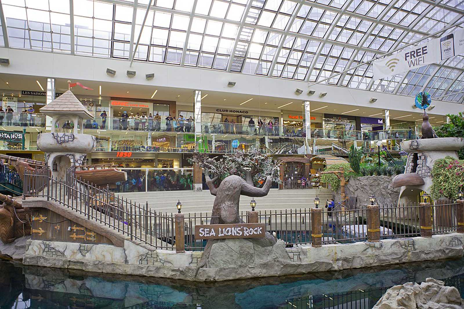 things to do in edmonton - the mall