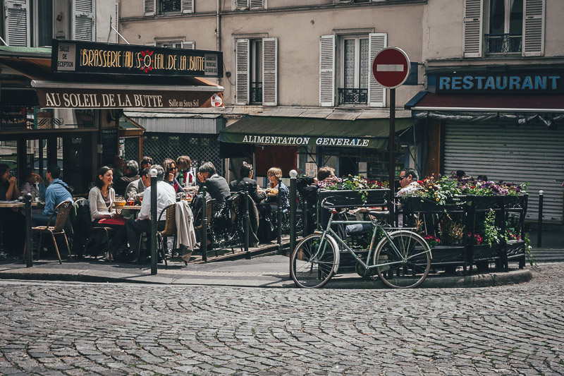 One of the Best Neighborhoods in Paris - Montmartre