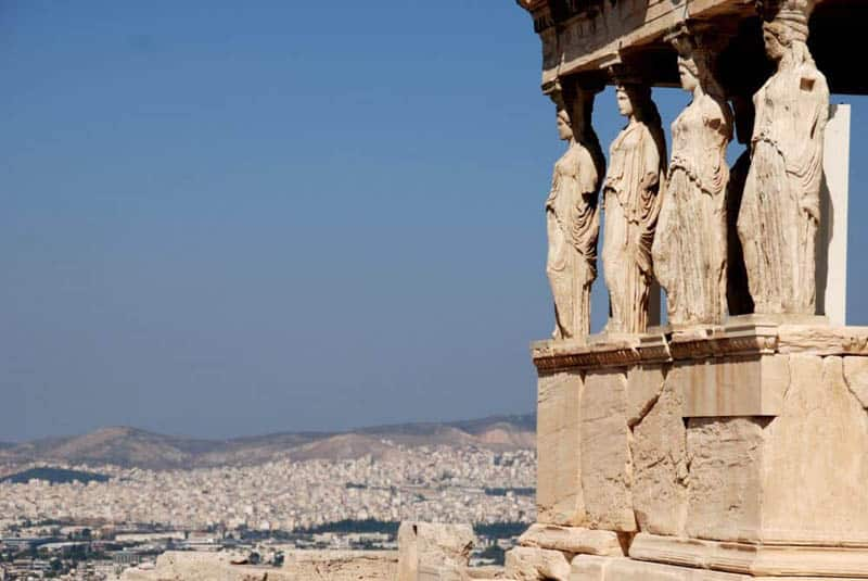 Where-to-stay-in-athens-Caryatids