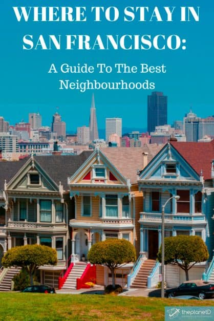 Where to Stay in San Francisco Pinterest