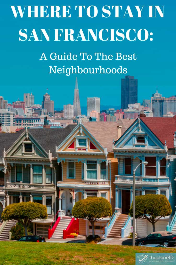 Where to stay in san francisco pin