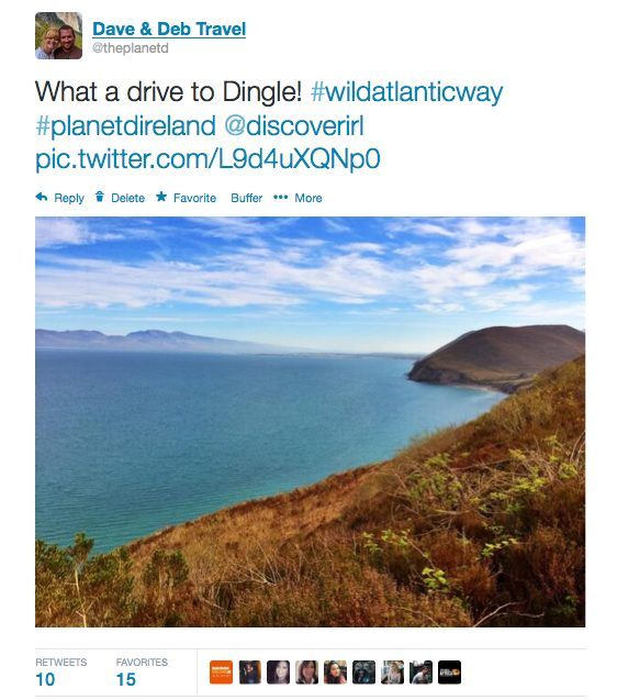 Wild Atlantic Way, Drive to Dingle