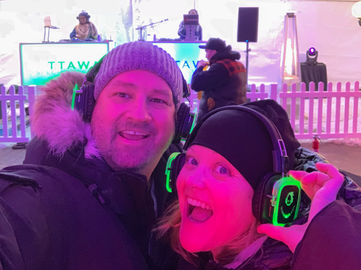 Silent Disco at Winterlude