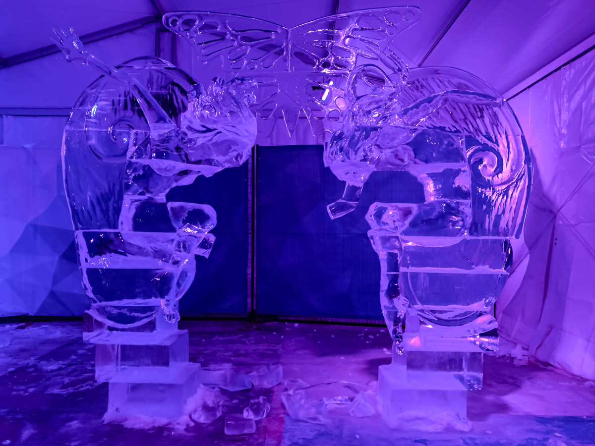 Winterlude in Ottawa Ice Sculptures
