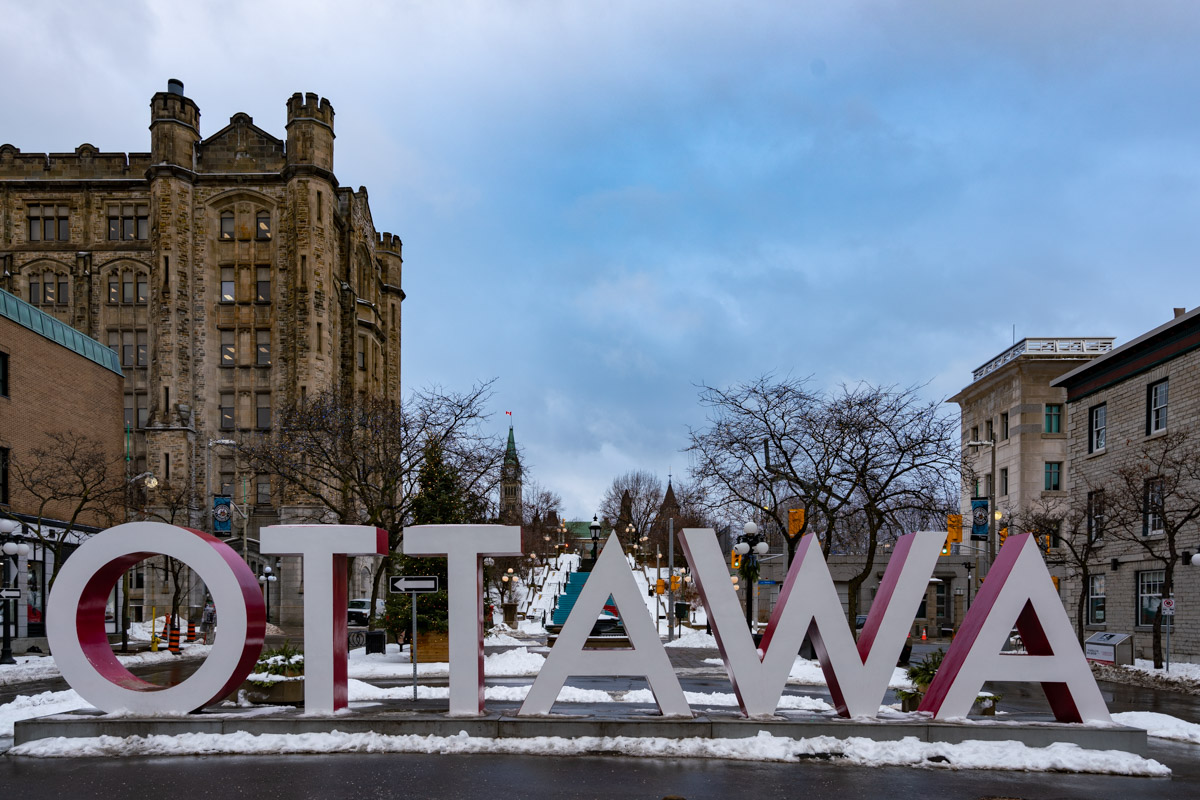 Ottawa Sign Winterlude