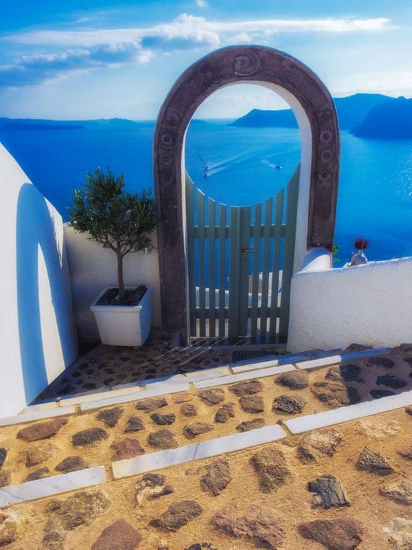 about santorini gate