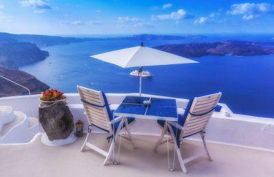 about santorini table