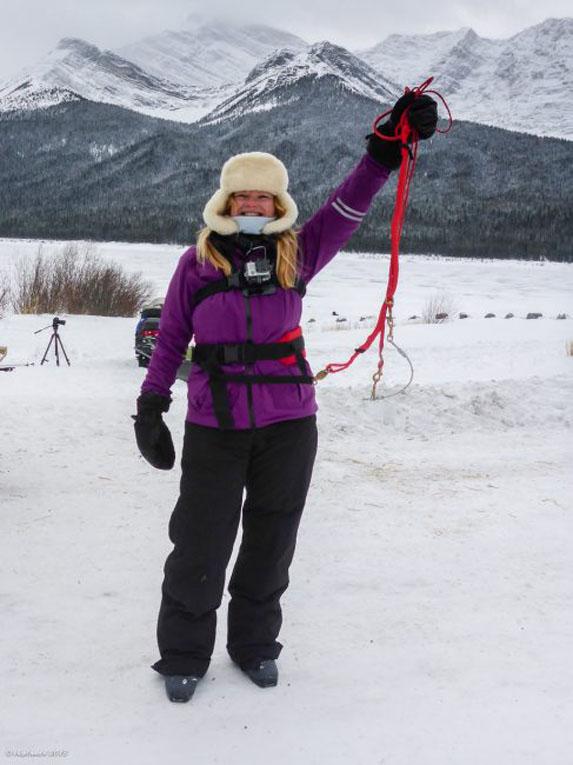 about skijoring deb