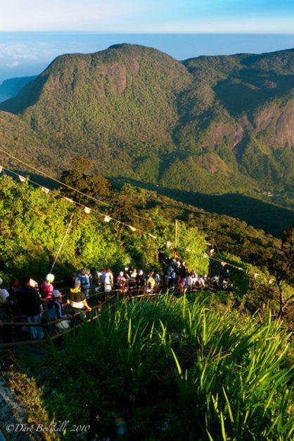 hiking adams peak